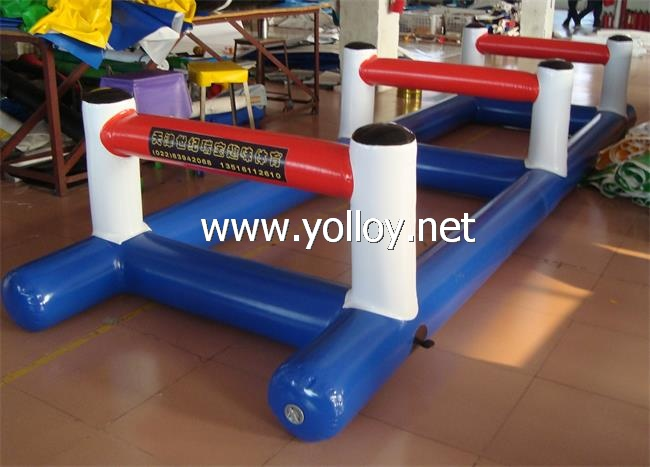 inflatable hurdle course