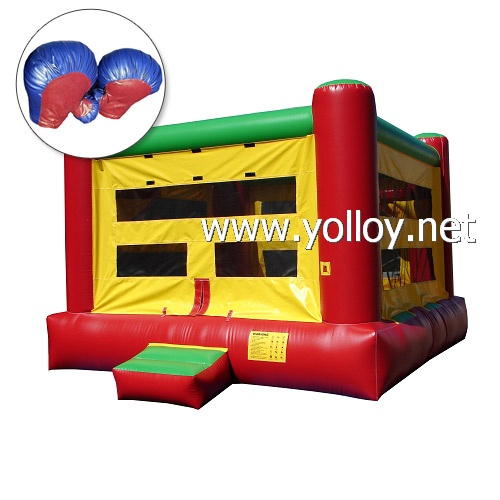 Inflatable Boxing Ring Great funland Bouncy castly