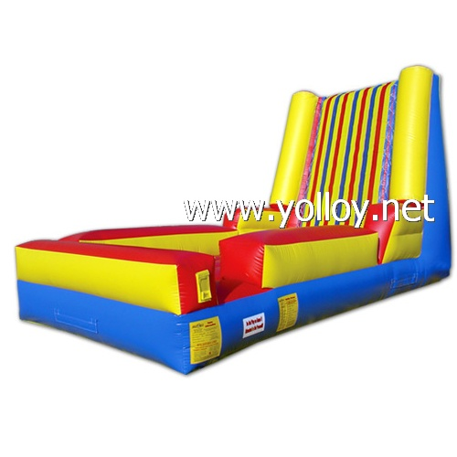 Interested sports games inflatable velcro wall suits