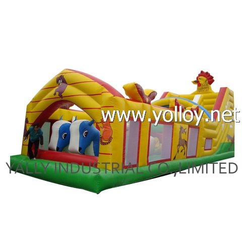 Hot inflatable bounce house for kids interactive