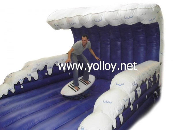Inflatable toys surfing surfboard