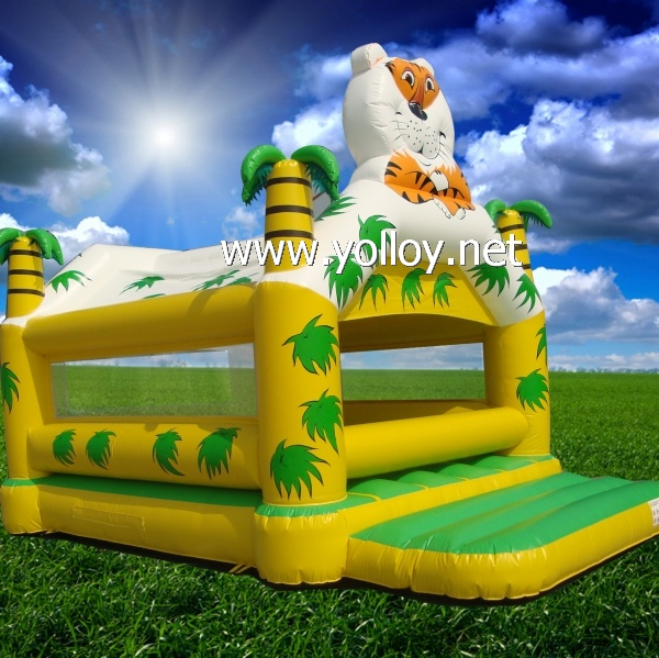 Jump hourse The KingTiger inflatable bouncy castle