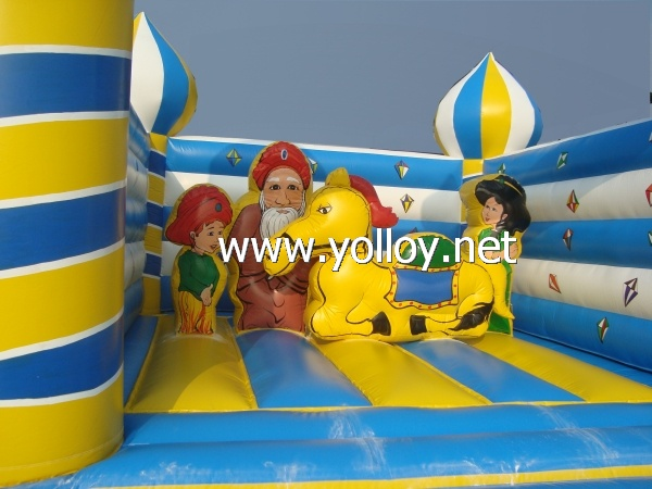 Egypt Prince style inflatable bounce house