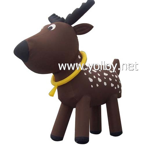 Lovely santa claus deer good ideas for Christmas Day .