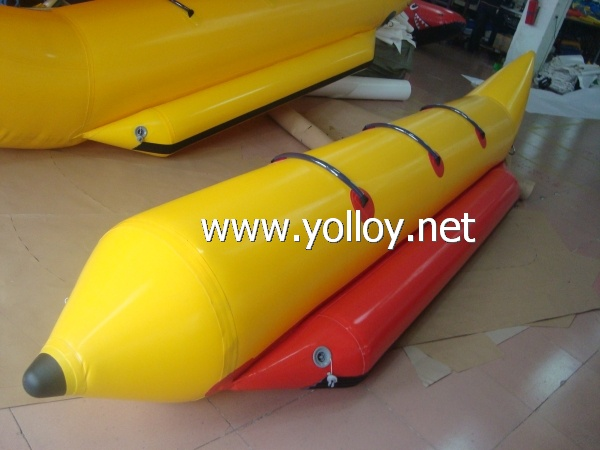 Spring break equipment banana boat for 3 person
