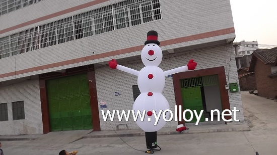 lovely snowman Xmas decorations specialized inflatable man