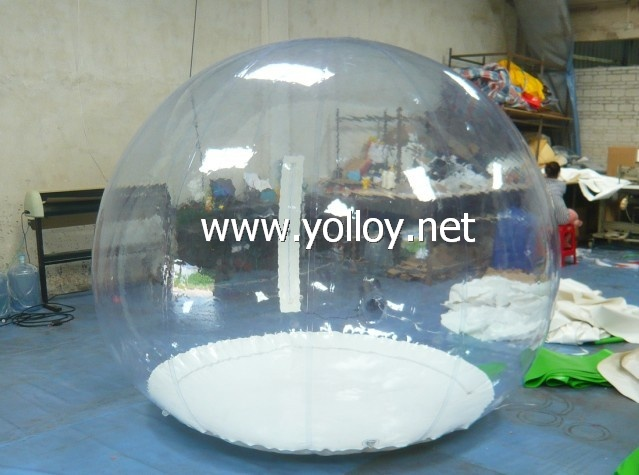 Transparent inflatable show ball for promotion event