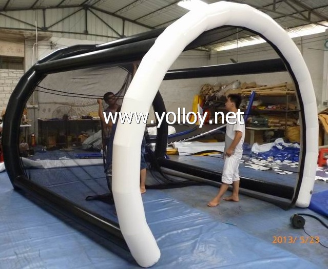 Large Inflatable Golf Hitting Cage practice Tent