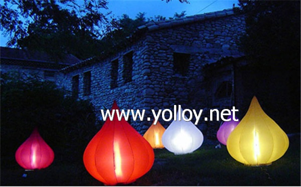 onion shape inflatable lamp decoration