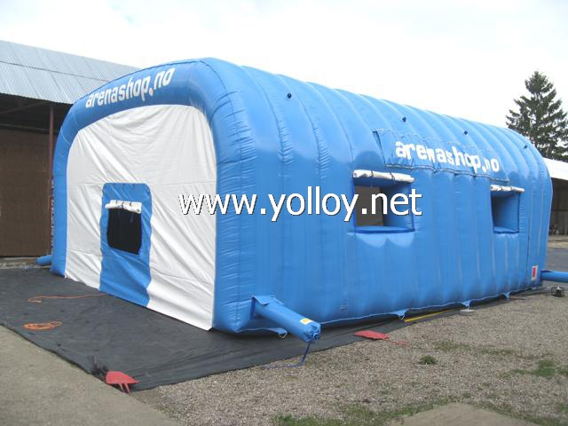 Portable Inflatable Shelters : Yolloy blue inflatable car shelter for sale