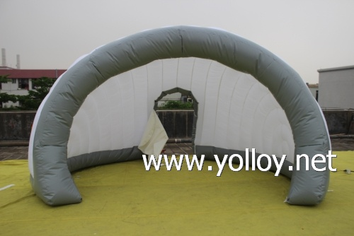 Outdoor mobile inflatable lounge office exhibition tent
