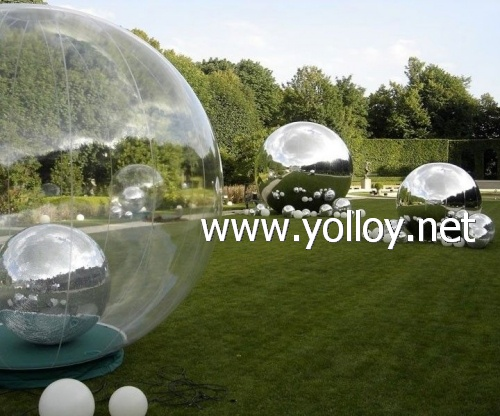Christmas decoration reflection Inflatable mirror ball