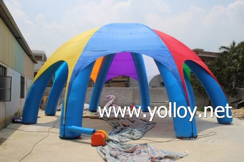 8 legs Large inflatable spider tent