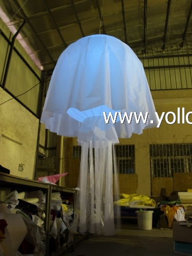Jellyfish lamp shade inflatable droplight