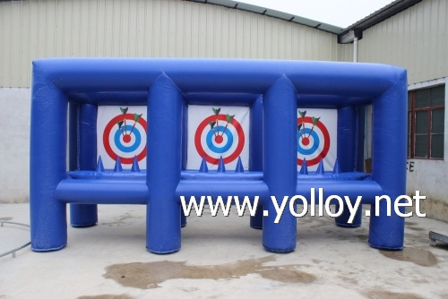 outdoor archery amusement bullseye inflatable arrow game