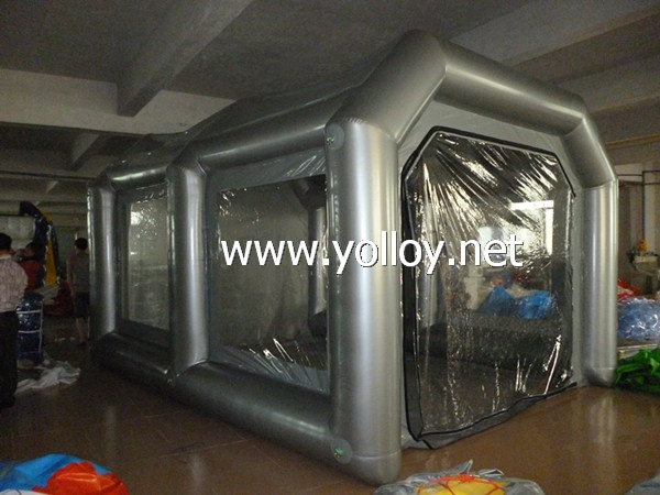 Yolloy Outdoor Portable Inflatable Car Spray Booth For Sale