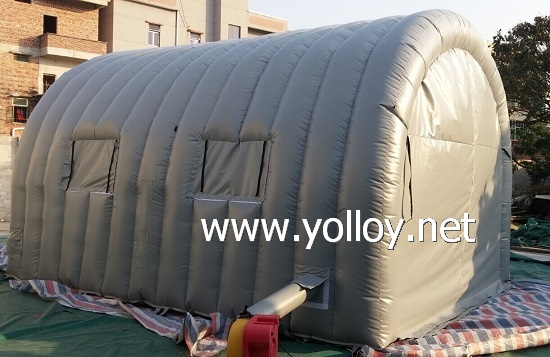inflatable paint spray booth