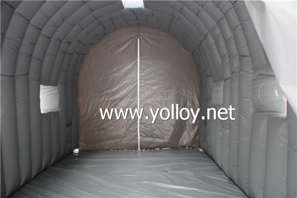 inflatable auto repair shelter