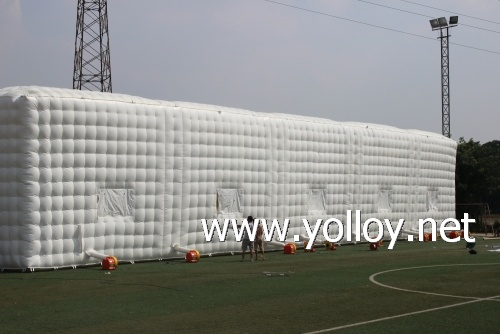 Big event tent in Cube shape