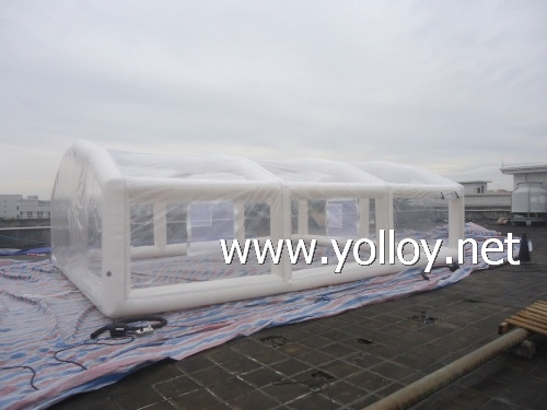 Yolloy Outdoor Inflatable Swiming Pool Enclosure Retractable For Sale