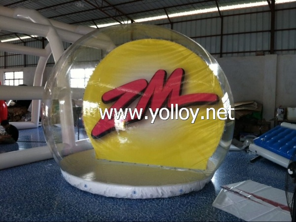 inflatable advertising show dome