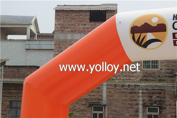 inflatable arch for advertising