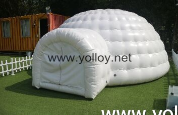 Air Tight Inflatable Igloo Tent