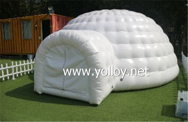 mini outdoor inflatable camping dome