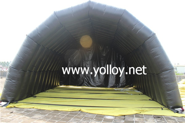 inflatable hangar