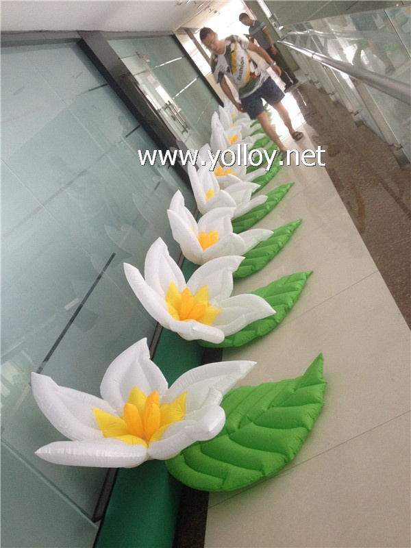 inflatable flower pathway for wedding