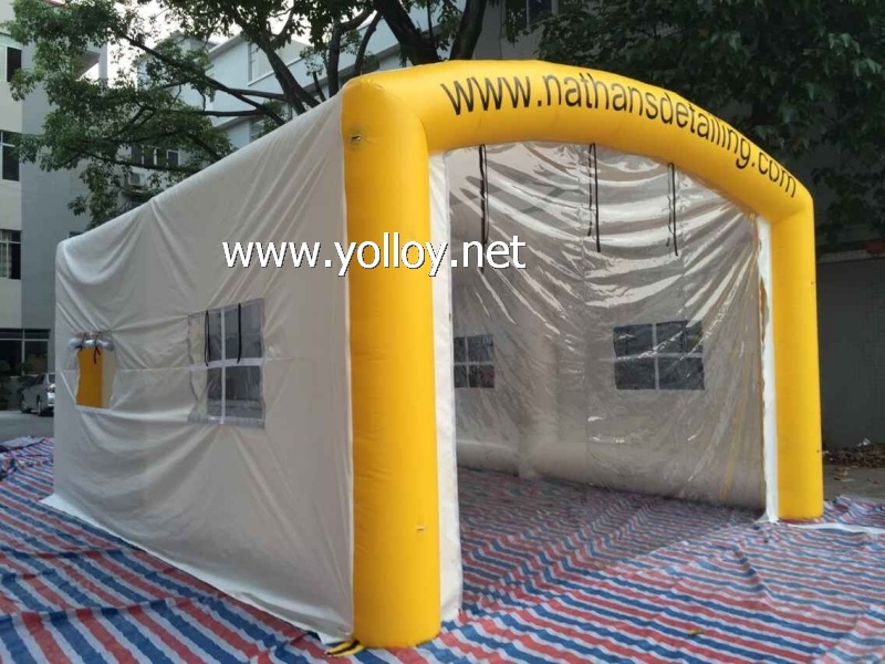 Inflatable Car Wash Tent