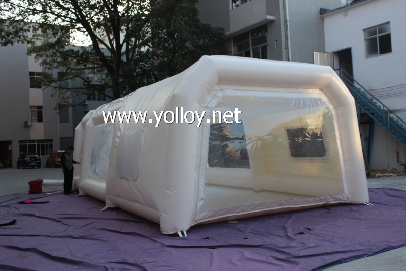 inflatable paint tent inflatable ... & Yolloy Inflatable tent Portable Paint workstation for sale