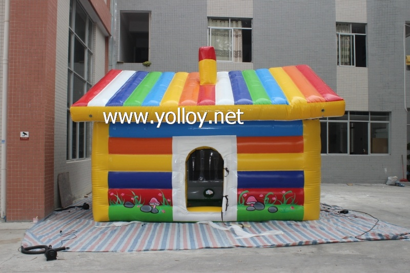 Airtight Inflatable Rainbow Tent