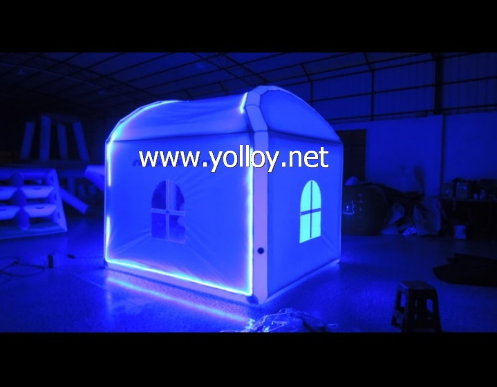 mini inflatable LED lighting tent