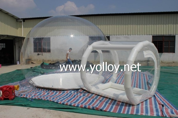 inflatable clear dome tent