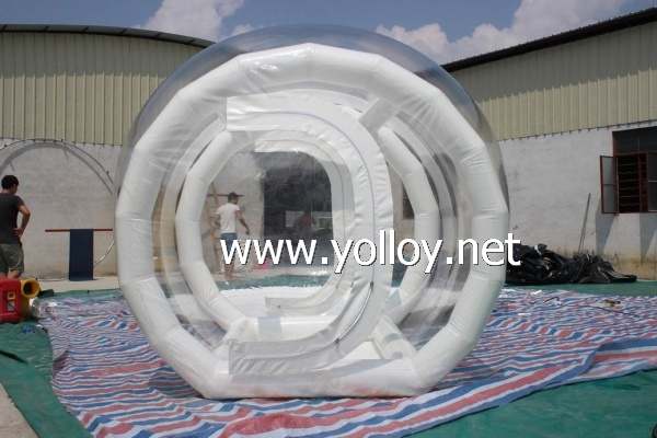 inflatable clear bubble tent