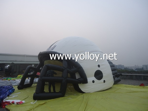 Inflatable Helmet Sports Tunnel Tent