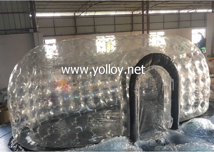 inflatable clear pod dome