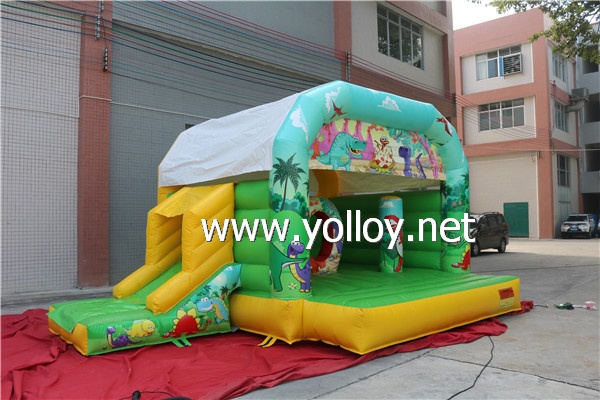 Forest theme inflatable bouncy house