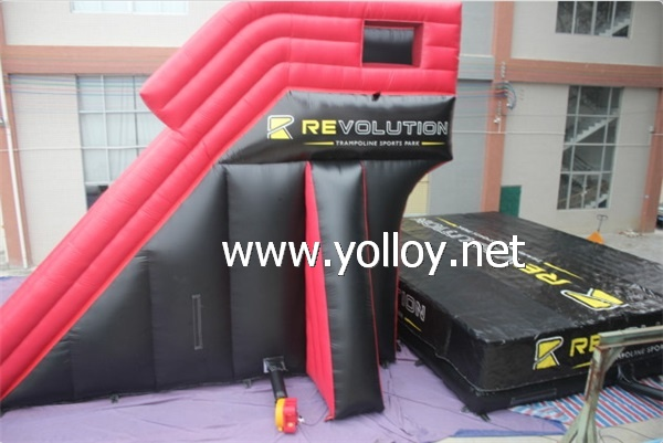 inflatable jumping stunt air bag