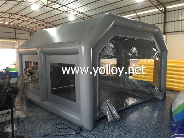 Garage Portable Paint Booth : Yolloy portable inflatable painting booth for sale