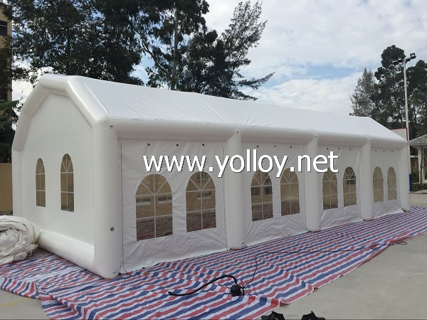 Huge inflatable party tent