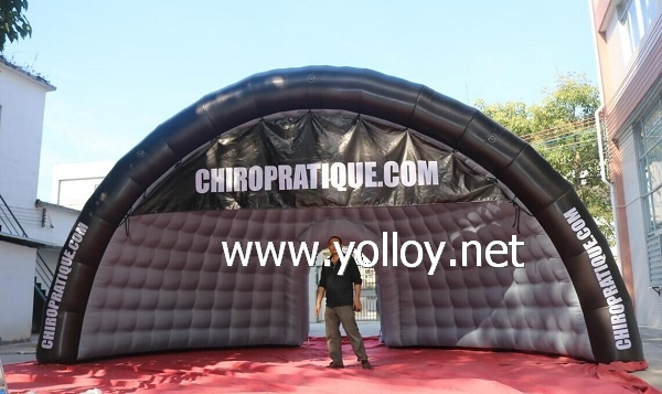 Outdoor Inflatable Advertising Half Dome Tent