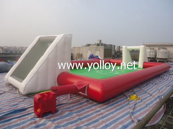 Inflatable Human Football Field for School Activity