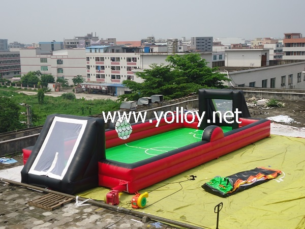 Inflatable Human Football Field for outdoor and indoor