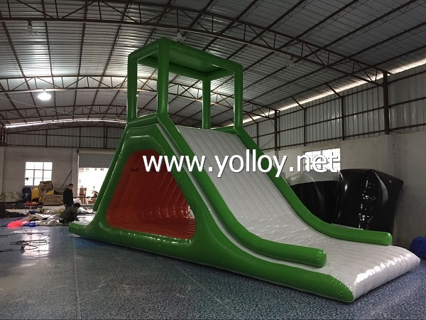 Inflatable Water Floating Slide For Water Game