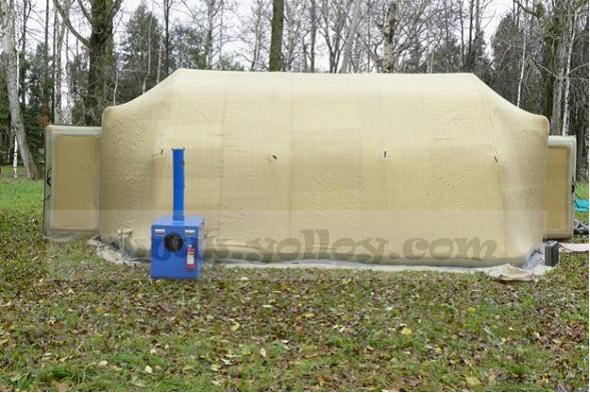 Yolloy Cold Resistant Inflatable Air Tight Tent For Out