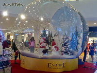 Yolloy Christmas snow globe for Christmas decoration for party ...