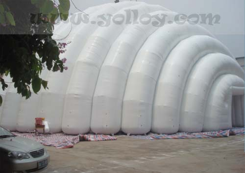 inflatable shelter for sports