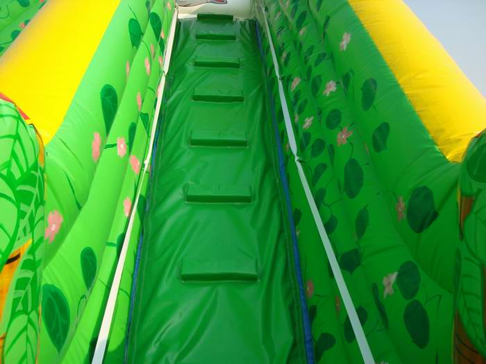 inflatable jumping slide